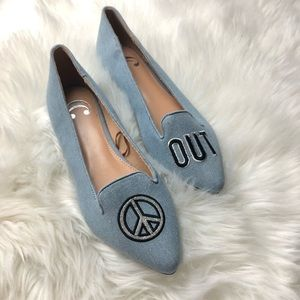 NWOT peace out C wonder loafer flats size 7